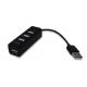 מפצל USB HUB 2.0 ל-4 יציאות